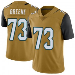 Nike Donnell Greene Jacksonville Jaguars Men's Limited Gold Color Rush Vapor Untouchable Jersey