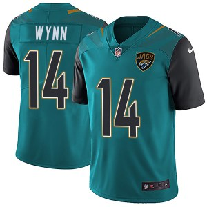 Nike Shane Wynn Jacksonville Jaguars Youth Limited Teal Vapor Untouchable Team Color Jersey