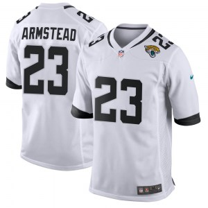 Nike Ryquell Armstead Jacksonville Jaguars Men's Game White Jersey